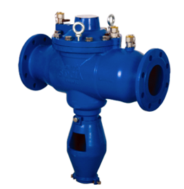 Flanged backflow preventer BA 009MC (for ND65 – ND250)
