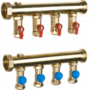Industrial big capacity manifolds