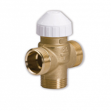 Three-way brass valve 3131 for fan-coils