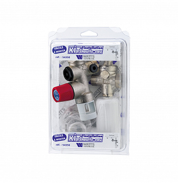 Boiler installation kit with safety group SFR® inox