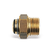 Soft sealed union with nut for zone valves serie 2131, 3131,4131