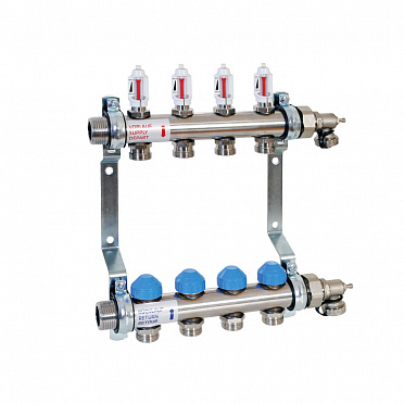 Stainless Steel Manifold with automatic flow control HKV2013A-AFC