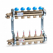Heating Barss Manifold HKV T with flow meters for Underfloor (UFH)