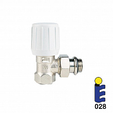 Nickel-plated thermostatic valve 188UM