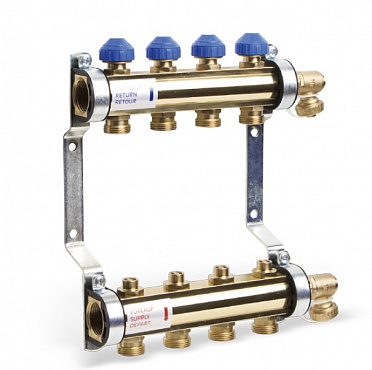 Heating Brass Manifold HKV for Underfloor (UFH)